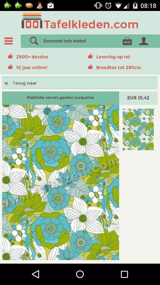 Plakfolie Turquoise Interieur Ideeen