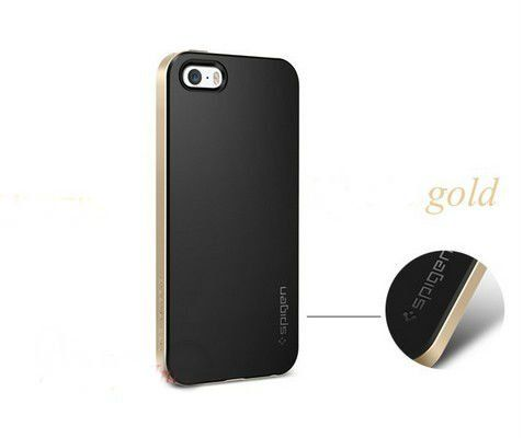 For iphone 4 4G 4S Bumblebee SPIGEN SGP Case NEO Hybrid Series Hard Phone Cover Black and Gold