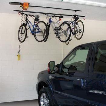 Costco Garage Gator 220 Lb Motorized Electric Hoist Bike Storage Bike Storage Solutions Bike Storage Options