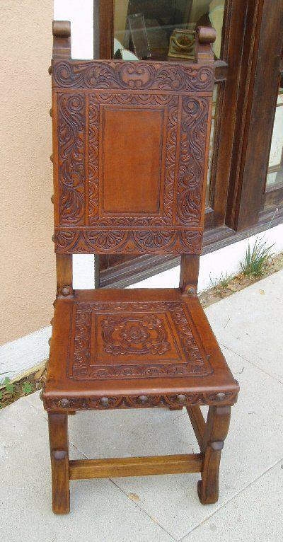 Renaissance Architectural   Renaissance Chairs, Spanish Colonial Revival  Chairs, Santa Barbara Style Furniture
