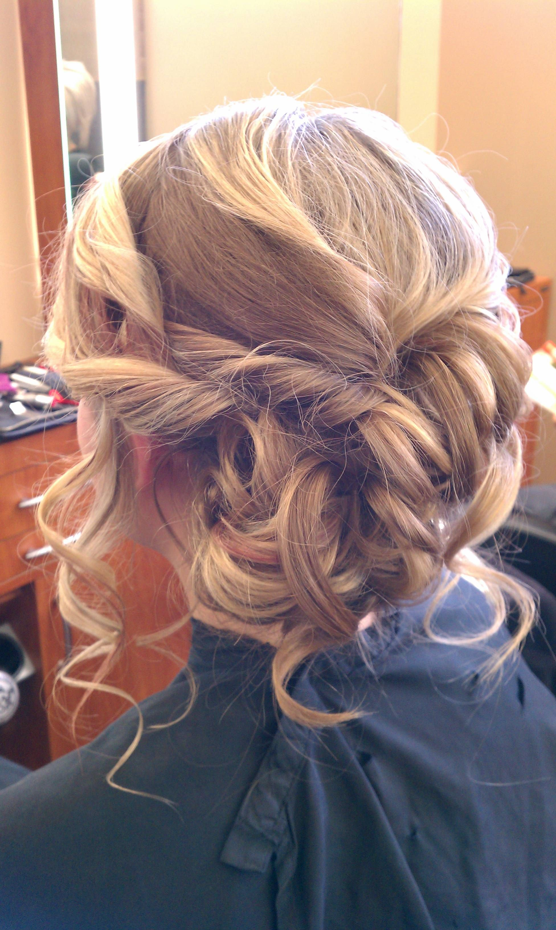 Prom, Homecoming, Wedding, Bridal, Bridesmaid, Low, Hair ...