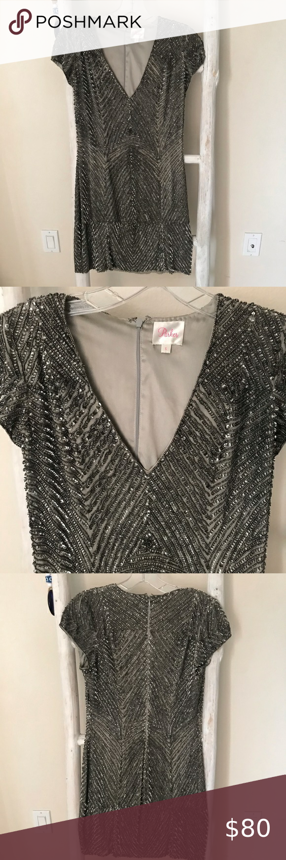 Parker Sequins Dress Sequins Dress Sequin mini dre