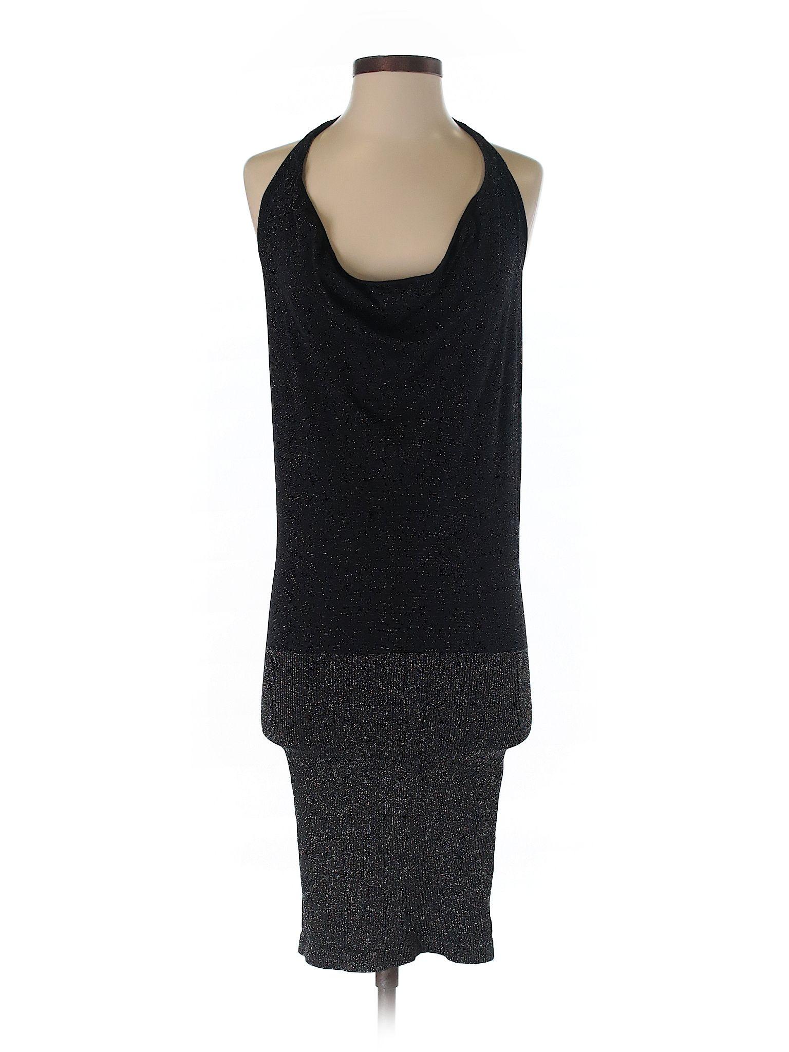 Bebe Cocktail Dress Size 400 Black Womens Dresses  $3899