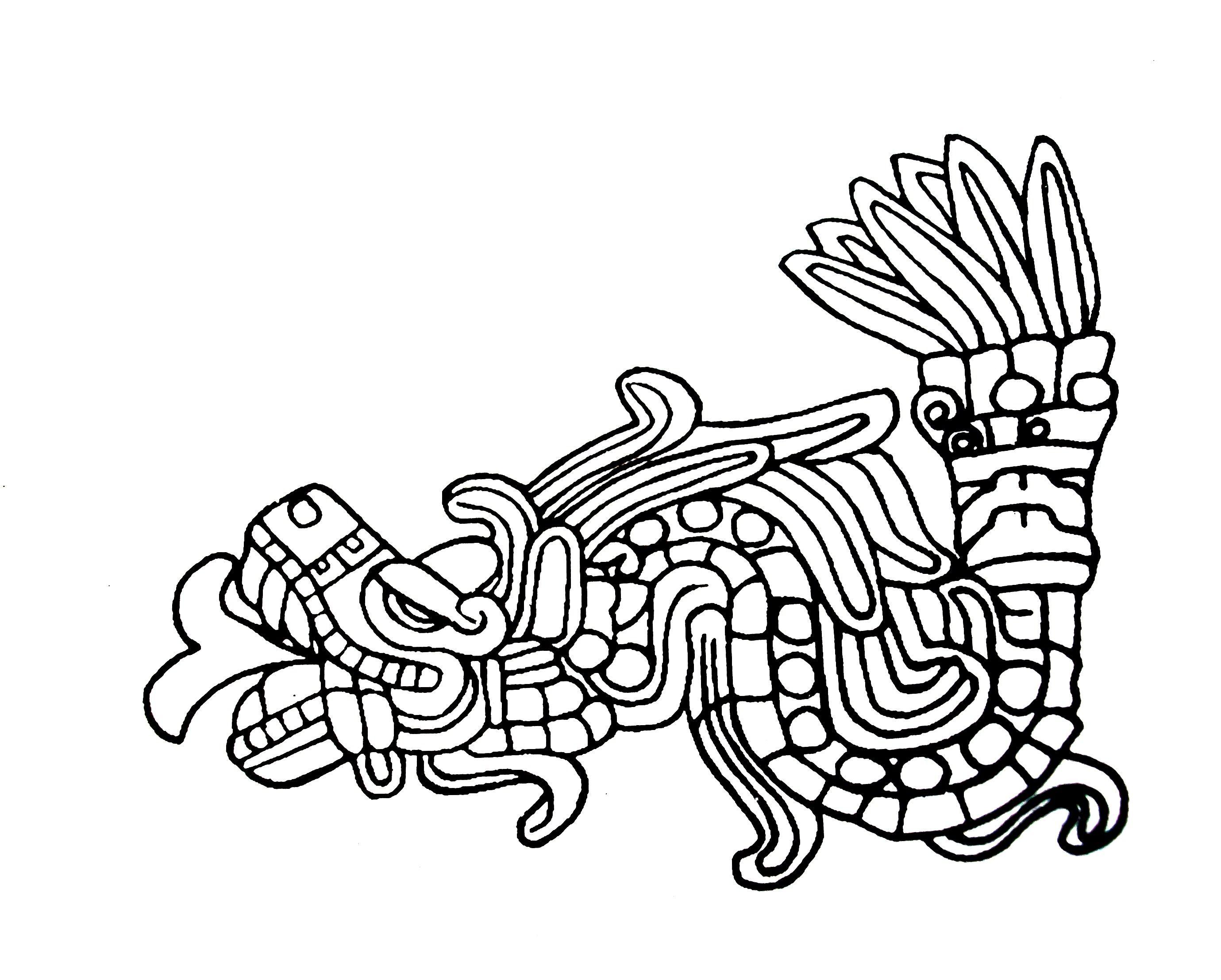 Dios Quetzalcoatl Simbolos Mayas Arte Precolombino Arte Azteca