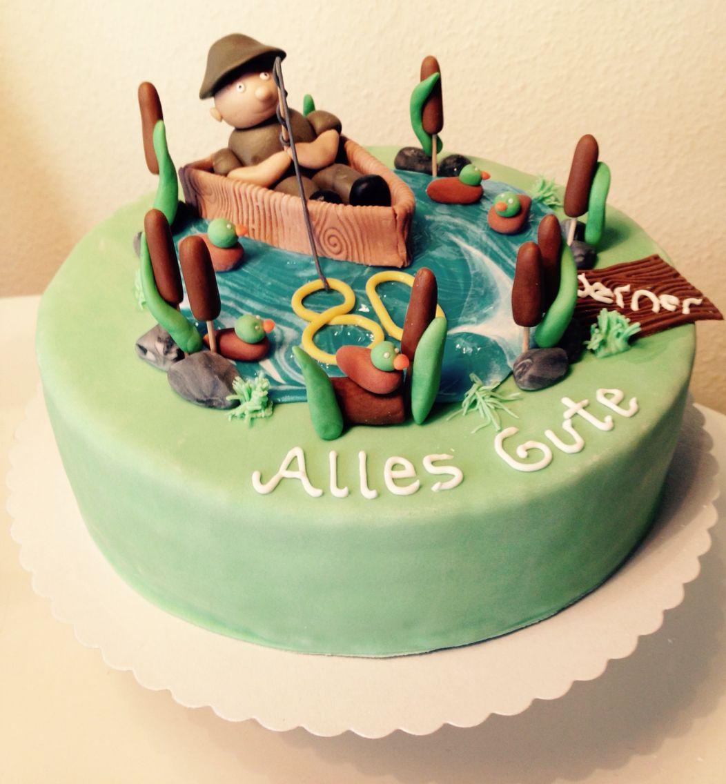 Angler Torte Grandma Cakes Pinterest Cake Grandma Cake And Torte