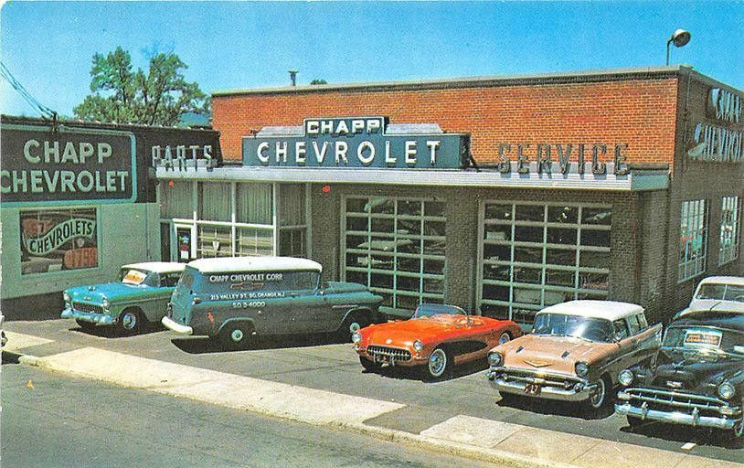 Chapp Chevrolet Corp Dealership South Orange New Jersey Classic Cars Chevrolet Car Dealership