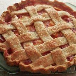 Chef John S Peach Pie Recipe Peach Pie Recipes Peach Recipe Desserts