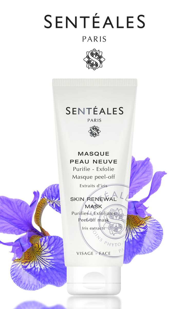 The Masque Peau Neuve By Senteales With Iris Extracts Gently