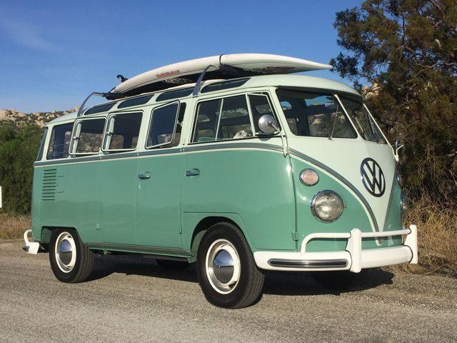 1963 Vw 23 Window Deluxe Microbus Volkswagen Bus Volkswagen