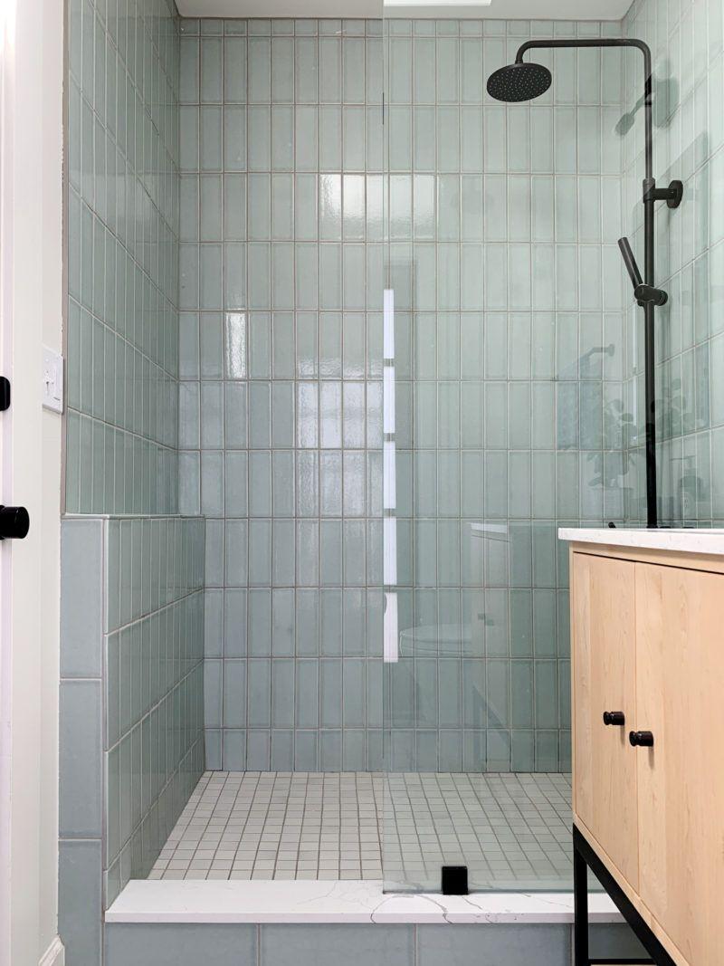 Soothing NonSlip Bathroom Floor Tiles and Shower Tile