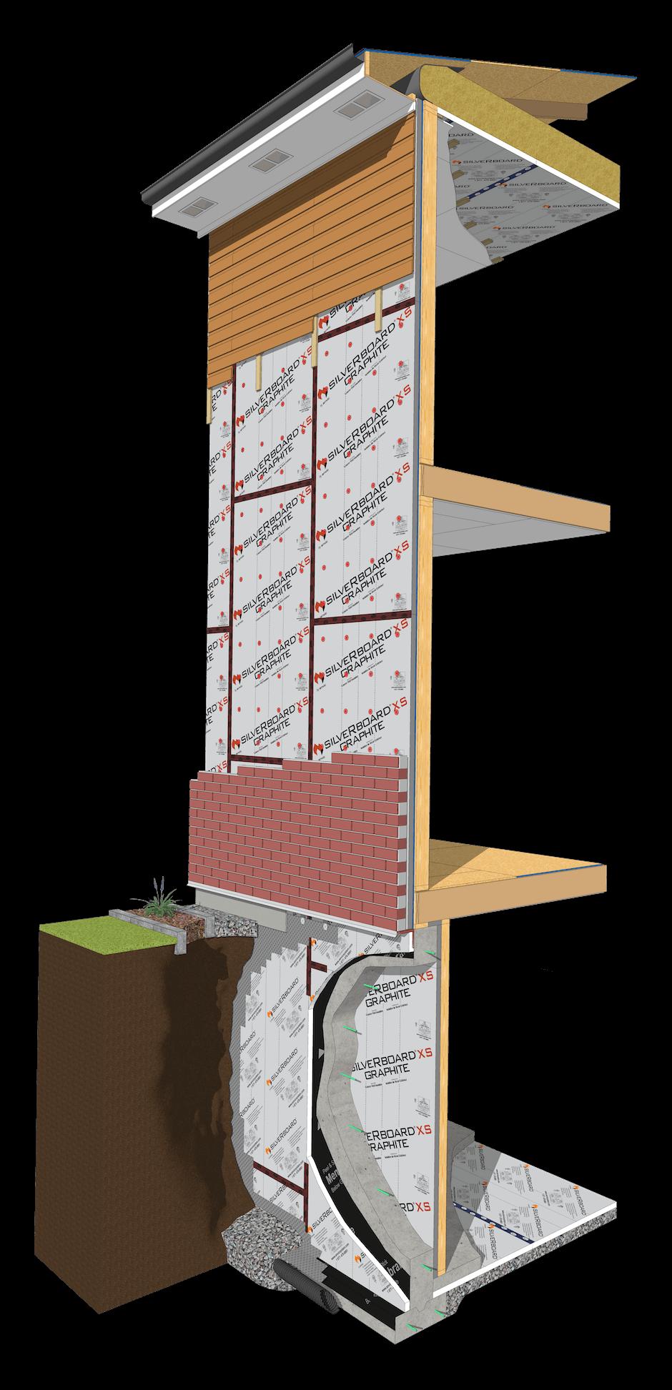Silverboard Graphite Carbon Graphite Rigid Foam Insulation In 2020 Rigid Foam Insulation Foam Insulation Insulation