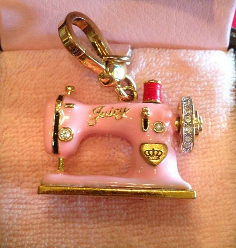 40 Rare And Retired Juicy Couture Charms Pinterest Couture Amazing Juicy Couture Sewing Machine Charm
