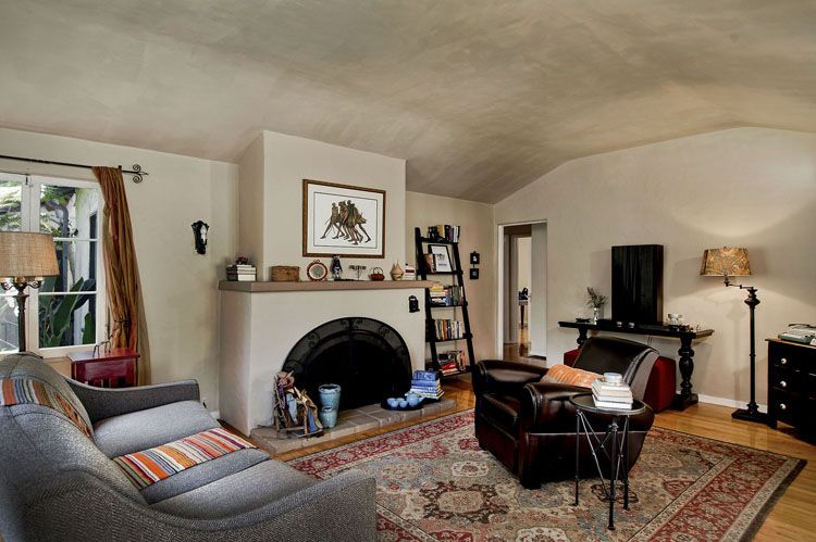 spanish style living room | We just listed this beautiful Spanish ...
