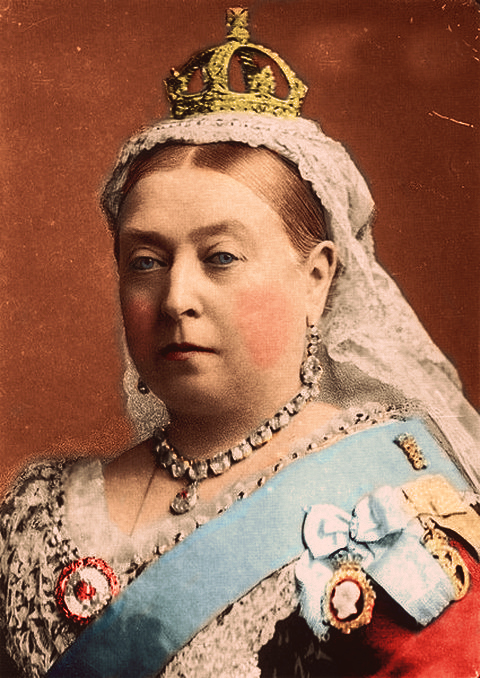 Queen Victoria was the Queen of England during Britain's rule over ...