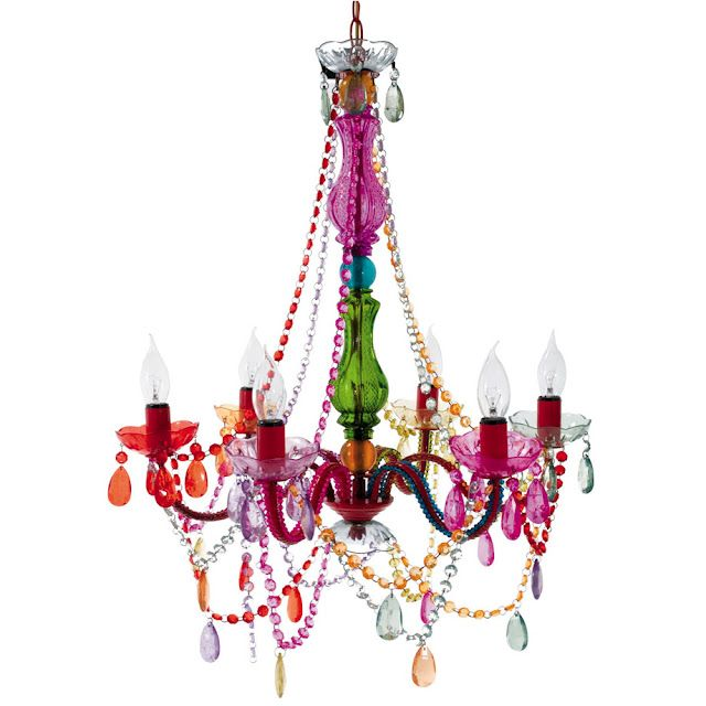 99 Multi Color Gypsy Chandelier From Tuesday Morning