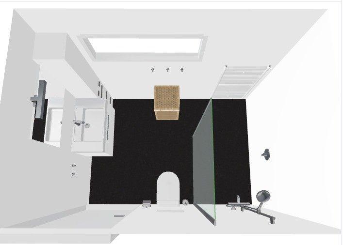 Baderie Sanitair Badkamer : Kleine badkamer met inloopdouche stalen douchewand baderie