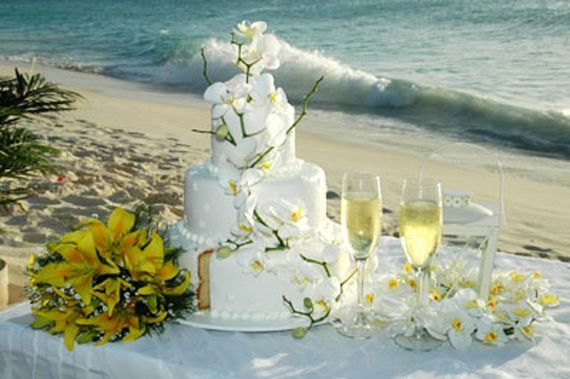 Wedding Cake Table Decorations Pictures Modern Wedding Ideas