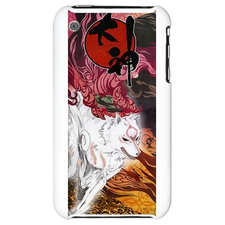 Okami Wolf print case. Gorgeous and totally wicked!