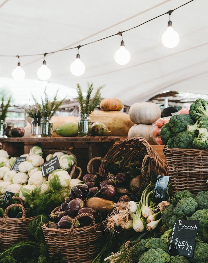 Oranjezicht City Farm - Market, Cape Town, South Africa