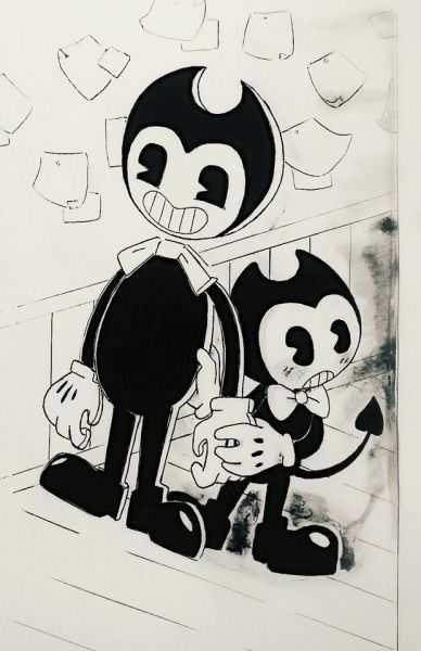 Bendy And The Ink Machine Image By Cutewolfteen Bendy And The Ink Machine Coloring Pages Ink
