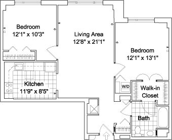 Master bath walk in closet floor plans gurus floor for Bathroom with walk in closet floor plan