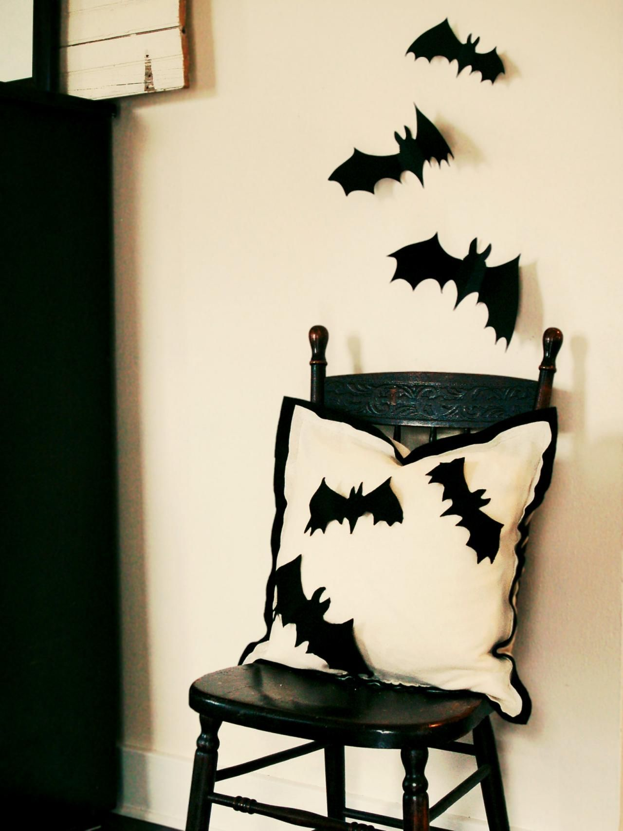 65+ DIY Halloween Decorations  Decorating Ideas Pinterest Bat - do it yourself halloween decorations