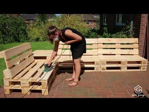 Photo of Happiness at home: Build your own pallet lounge