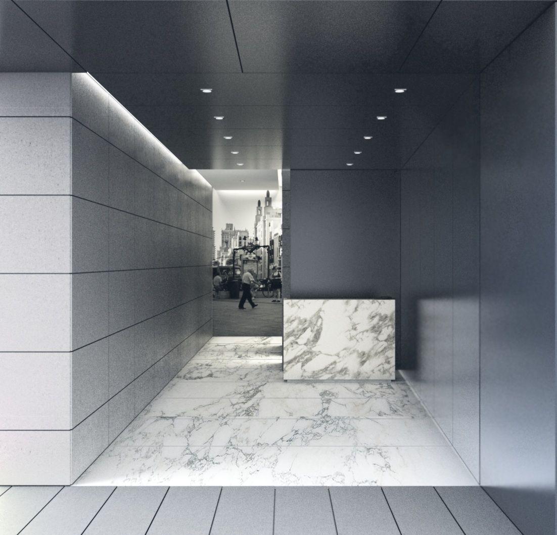 corporate lobby by ramon husni arba arquitectos pinterest arquitectos. Black Bedroom Furniture Sets. Home Design Ideas