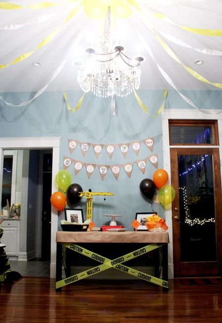 Ethan's Big Rig Construction Birthday Party |