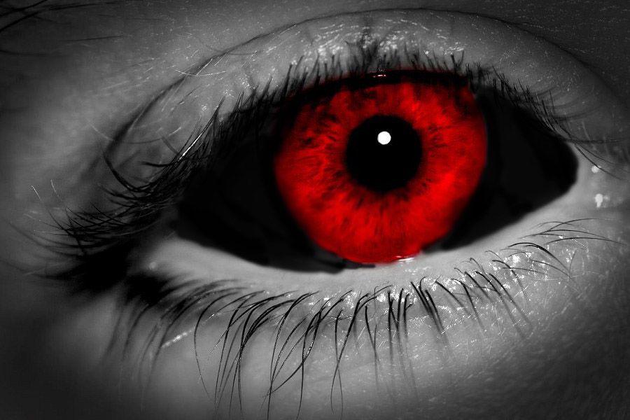 A Dark Evening in 2020 Vampire eyes, Eye color, Red eyes