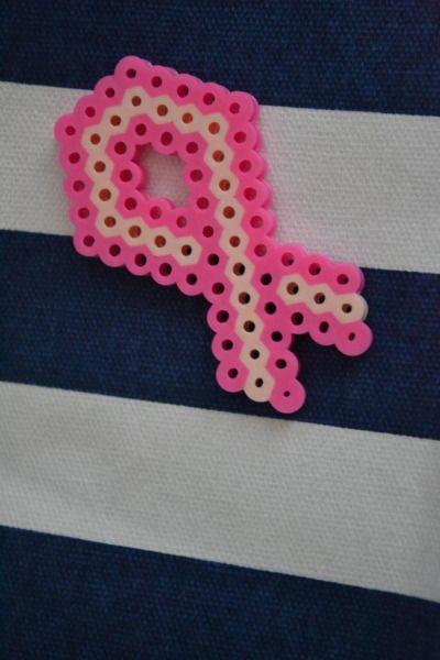 Breast cancer awareness ribbon (pin)