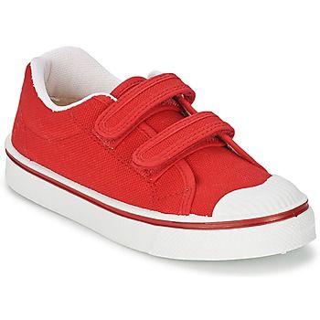 db780b739  zapatillas roja con velcro de la marca Citrouille   Compagnie  zapatosniños