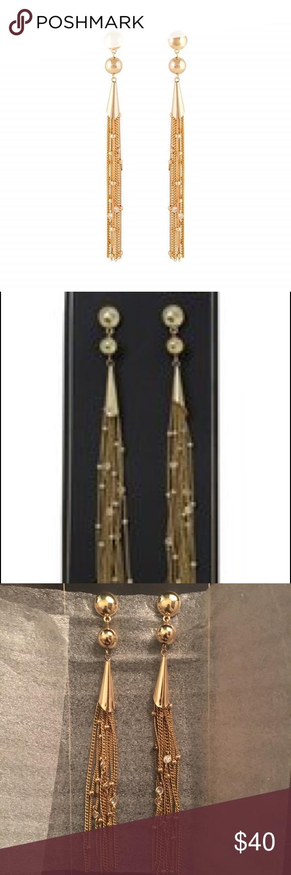 6f5b7e4f0 Ettika Crystal Drop Earrings Box of Style Ettika Crystal Drop Earrings in Gold  ettika Jewelry Earrings