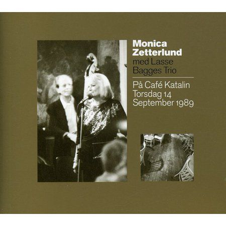 Anyone interested in Swedish or European jazz music will have a knowledge of the great Swedish jazz singer Monica Zetterlund who died only a few years ago. This album features Monica with her regular trio led by pianist Lars Bagge performing at the famous jazz cafe Katalin in the University City of Uppsala. The selection of material is a choice of songs made famous in Sweden through Monica, sung both in English and Swedish and the evening is very representative of Monicas artistry.
