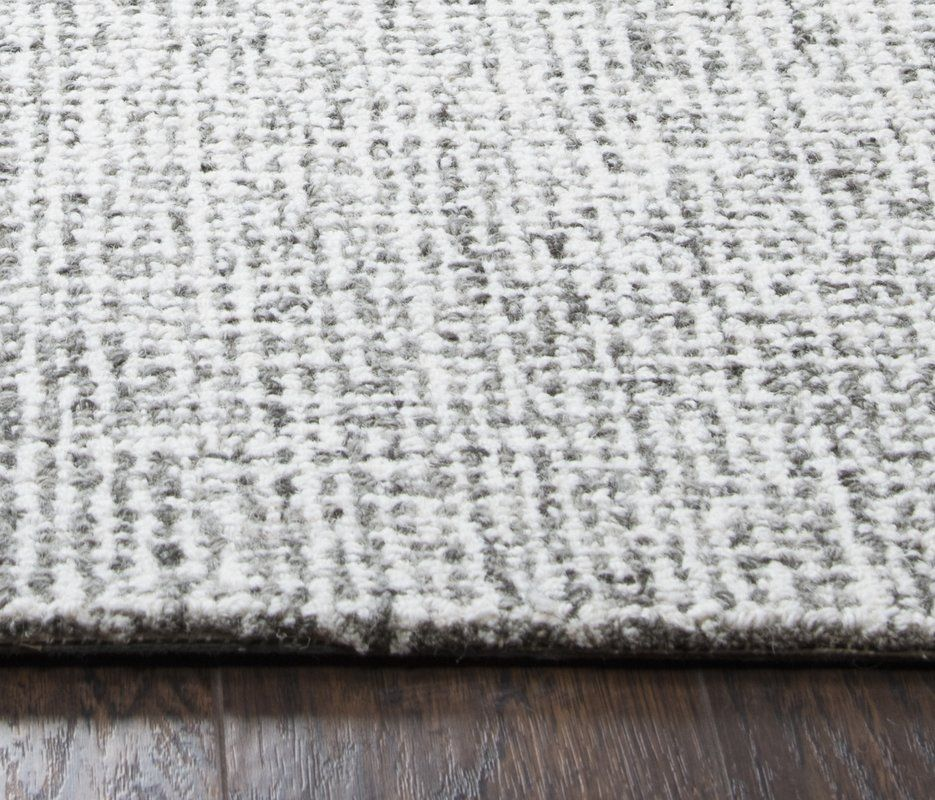 Marsh Hand Tufted 100 Wool Gray Area Rug 9x12 1029 99 Wool Area Rugs Area Rugs Grey Area Rug
