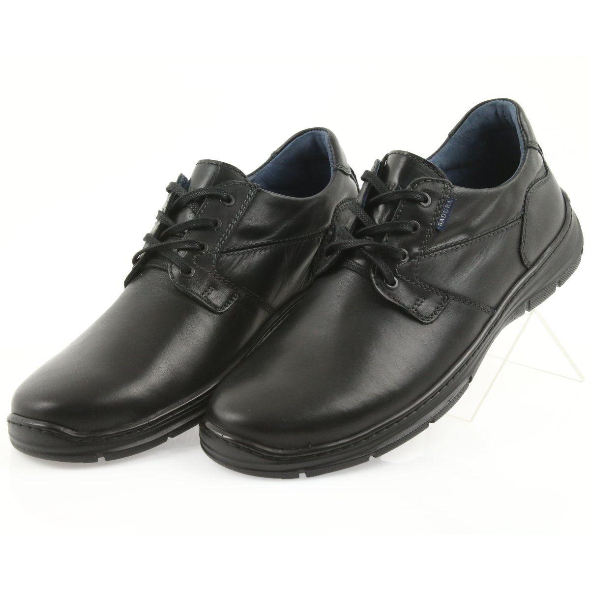 Badura Polbuty Meskie Komfort 3509 Czarne Dress Shoes Men Low Boots Boots Men