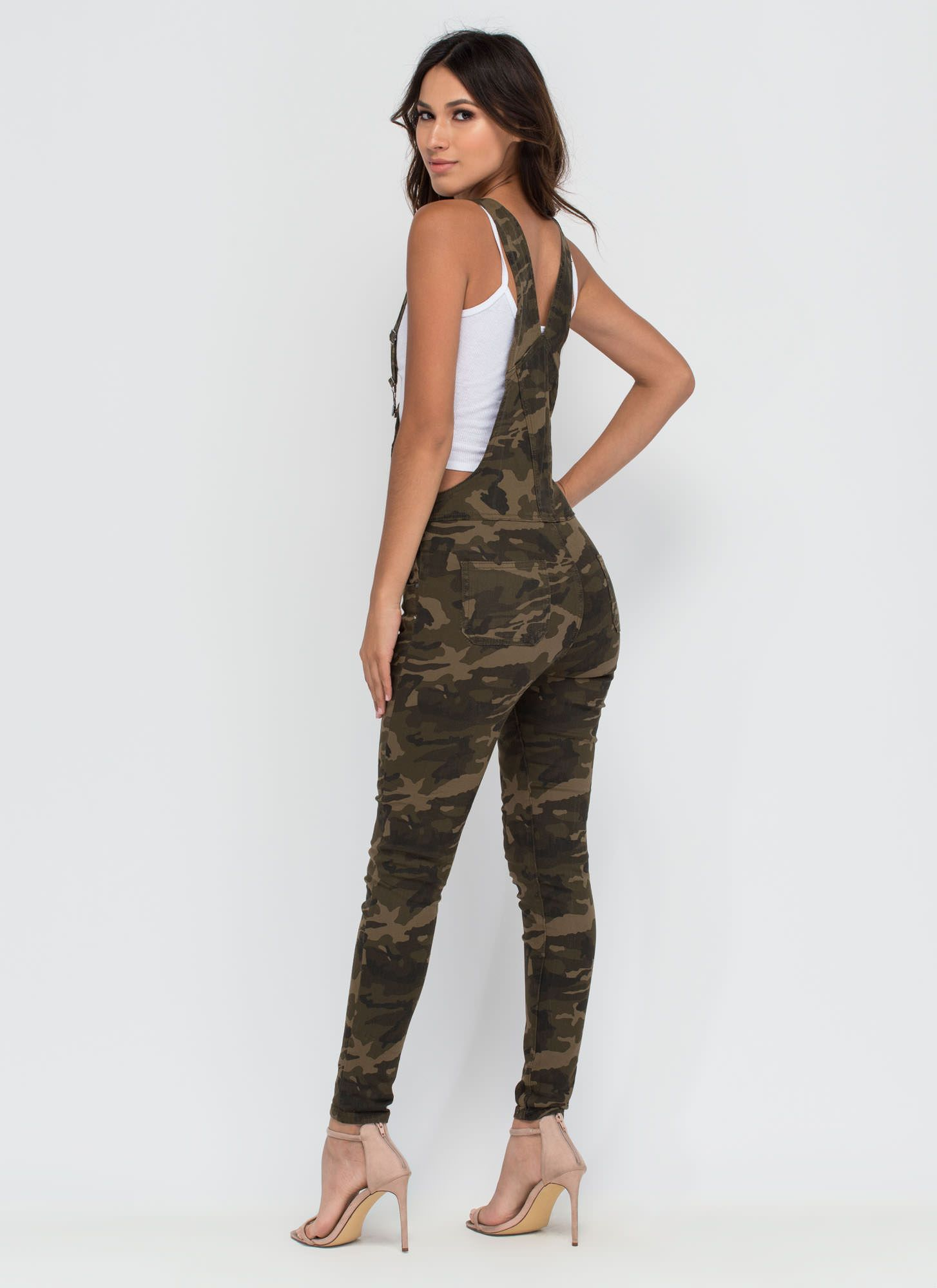 d0bee62ced3b3 FOREVER 21 Camo Print Overall Pants | my style | Camouflage pants,  Camoflauge pants, Camo outfits