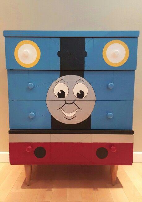. Thomas The Train Dresser   Wyatt in 2019   Train bedroom  Thomas