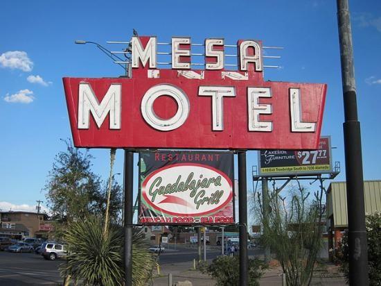 Mesa Inn El Paso Utep Westside Trip Advisor El Paso Retro Sign