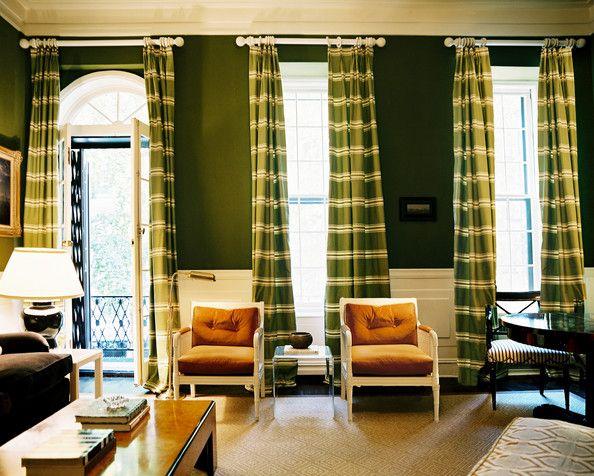 Curtains Ideas curtains for a green room : Green Living Room Curtains - Kaisoca.com