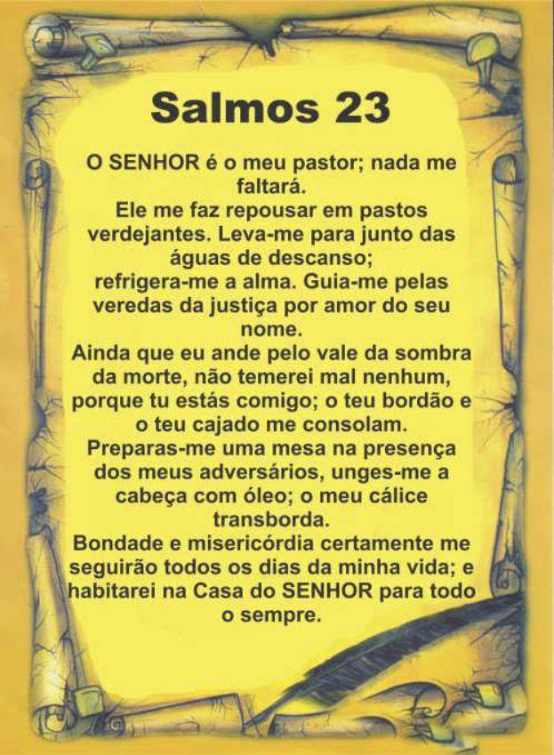 Salmo 23 Amarelo