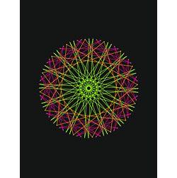 String Art Fun Free Circle Pattern 1.