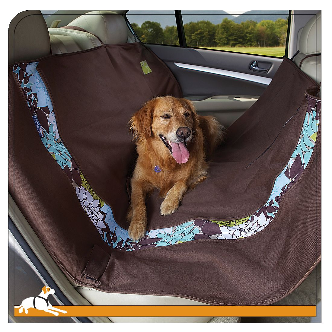 dogs bq car seat outdoor furniture hammock covers wander kurgo for cover