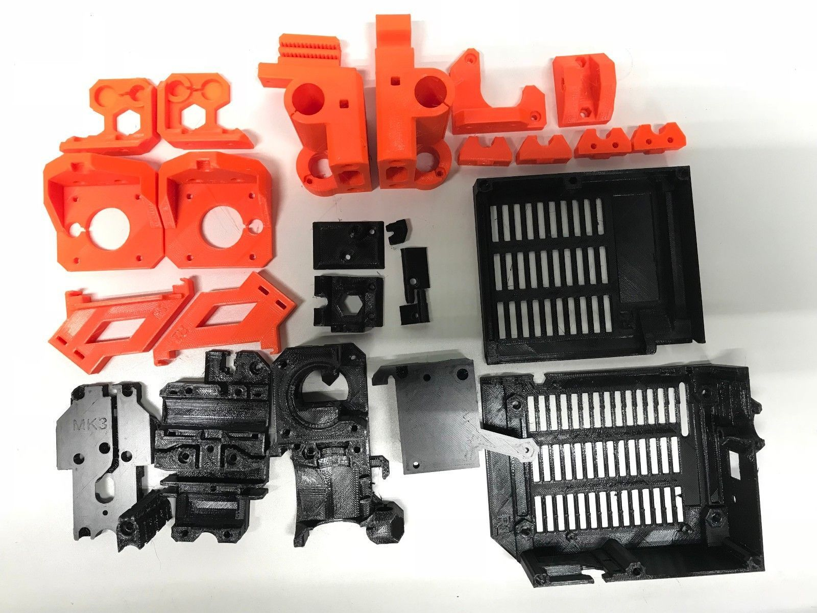 photo about Prusa Printable Parts identified as Prusa i3 MK2 MK2s in the direction of MK3 up grade released components In just Prusa