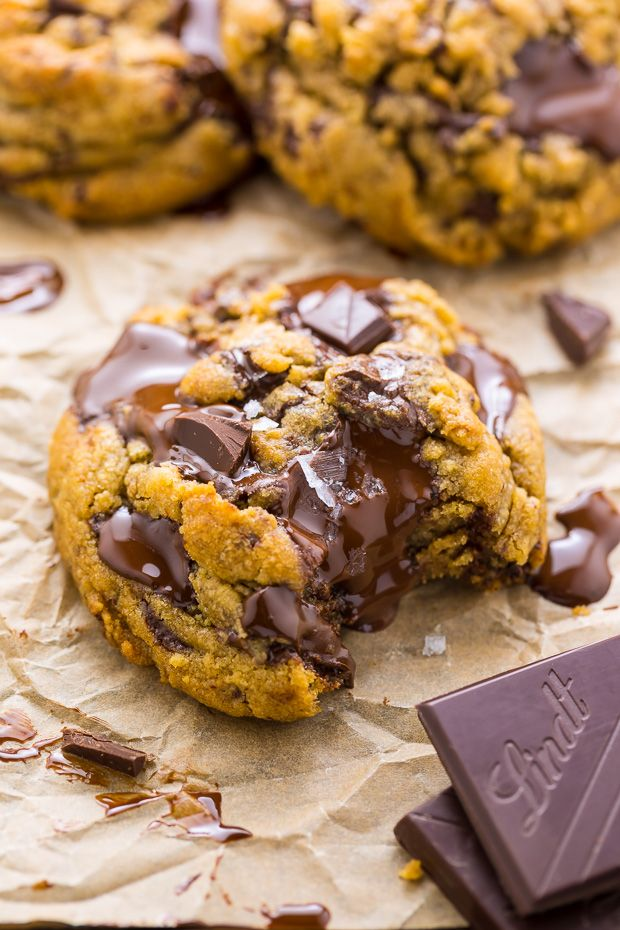 Best Ever Chocolate Chunk Cookies - Baker by Natur