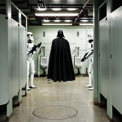 Daniel Picard - Darth Vader Urinal - Galerie Sakura