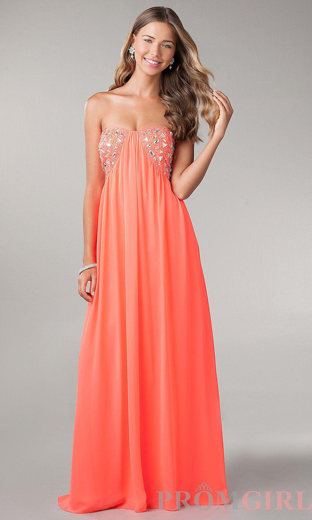 strapless-prom-dresses-tumblr-neon-coral-prom-dresses-strapless ...