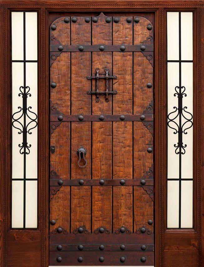 Puertas r sticas alpujarre as artesanos de la puerta - Puertas rusticas interior ...