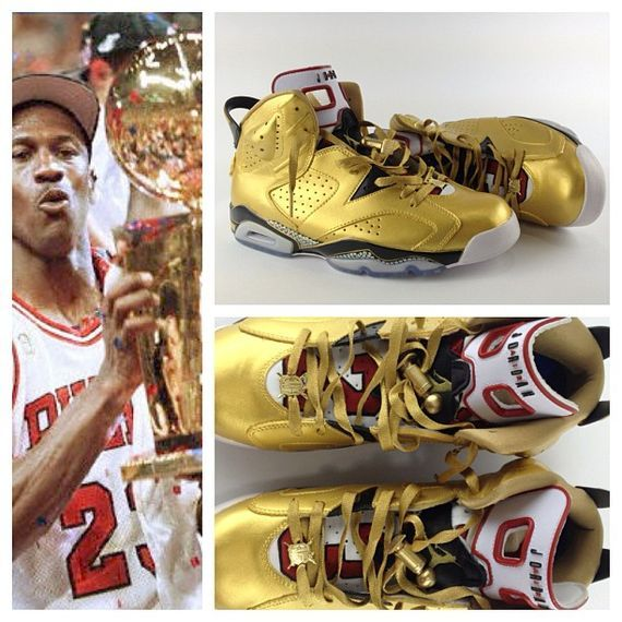air jordan vi 91 champ custom by el cappy custom
