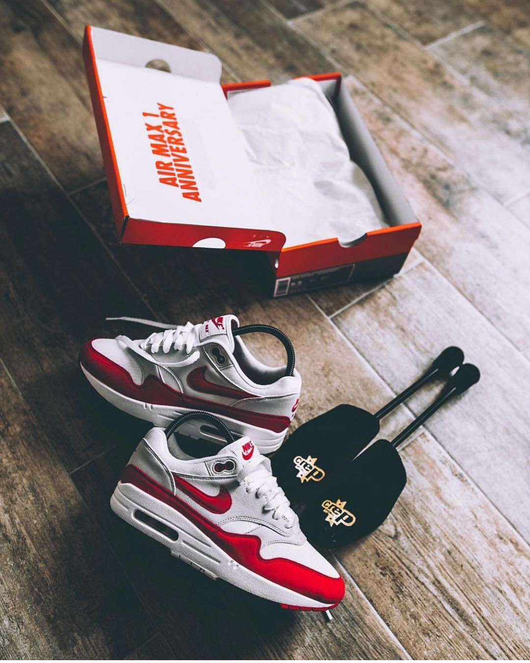 """official photos 4d08d 6f8f8 Schuh Spanner on Instagram  """"Nike Air Max 1 """"Red"""" 📸 by  mvximoustach"""